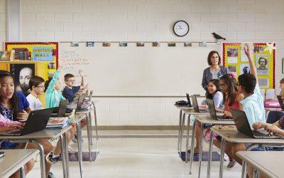 Watching writing evolve in Google Chromebook Classroom